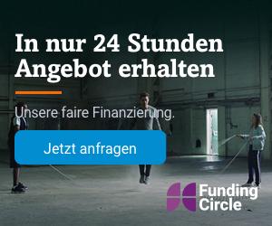 Funding Circle Firmenkredit für kleine und mittlere Unternehmen: Jetzt kostenloses Angebot einholen (hier klicken)