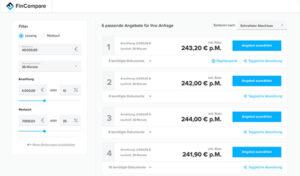 FinCompare Vergleichsportal für mittelständische Unternehmen: Jetzt kostenloses FinCompare Angebot einholen (hier klicken)!